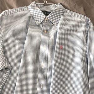 Ralph Lauren Button up dress shirt for men.